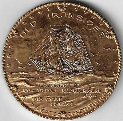 Old Ironsides 25c contribuion medal