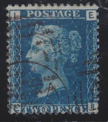 1858-79 GREAT BRITAIN STAMPS USED ABROAD A25 MALTA 2d (Pos I-E) QV PLATE 13 SG47