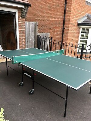 Butterfly Outdoor & Indoor Playback, Rollaway Table Tennis Table. Full Size.