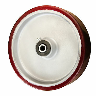 "8"" x 2"" Polyurethane on Aluminum Wheel for Casters or Equipment Service Caster"