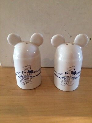 Mickey Mouse Salt And Pepper Disney White