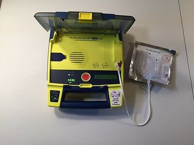 Cardiac Science Powerheart AED G3 Passed Tests+ New Battery+ New Pad+ Warranty