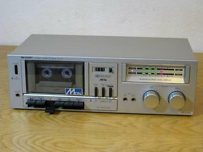 Sharp RT-10E Vintage Retro Cool Cassette Deck  JAPAN  Serviced and Working