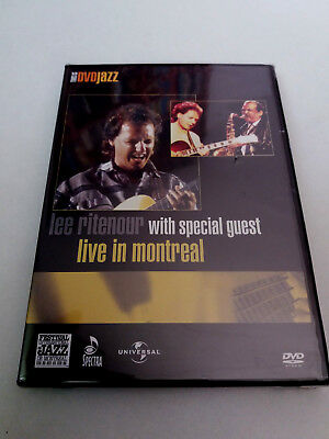 "Lee Ritenour ""live In Montreal"" Dvd Precintado Sealed With Special Guest"