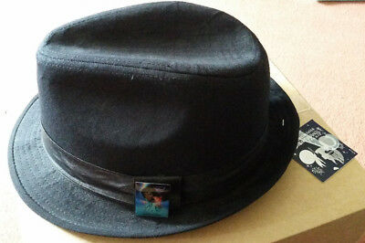 "Disneyland Paris - Michael Jackson Captain EO - ""Fedora"" Type Hat with Pin NWT"
