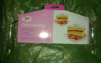 Tala Cake Leveller (Pink) - Slicing Cutting Layer Adjustable Wire Decor 10A09744
