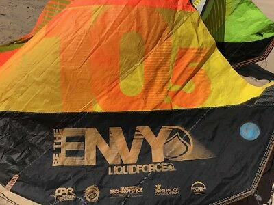 Liquid Force Envy NV 10.5m Kitesurfing Kiteboarding Kite