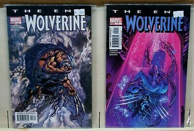 Wolverine The End(2004) #3,5 Paul Jenkins Writer