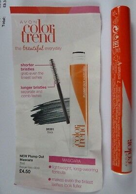 d0188bb37ef NEW AVON Colour Trend Plump Out Black Mascara ~Brand New - £2.85 ...
