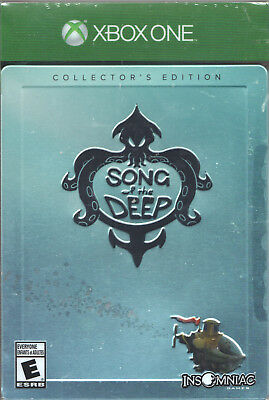 Video Game - Xbox One SONG OF THE DEEP COLLECTOR'S EDITION - Factory Sealed