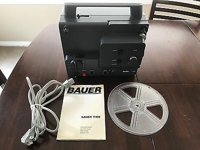 Bauer T 180 Sound Super 8 And Normal 8 Movie Projector