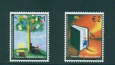 Kosovo 2010 Book Reading Boy under book tree, Book with letter A MNH