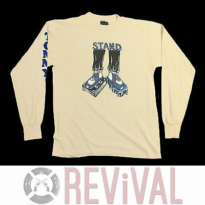 Vintage 80s NIKE SHOES Super Rare Stand Holy Bible Rock Religion T Shirt XS/S