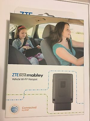 ZTE Mobley 4G LTE Wi-Fi Hotspot AT&T (New Sealed, Contract-FREE) ***BRAND NEW***