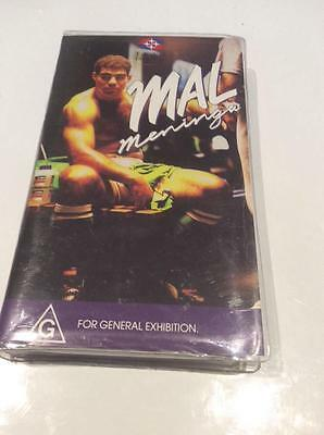 Rugby League The Mal  Meninga Story Video Pal~ A Rare Find