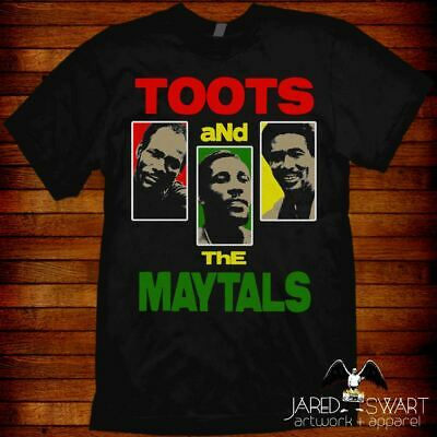 Toots and the Maytals T-shirt design by Jared Swart