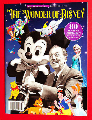 The Wonder Of Walt Disney Book 2017 80 Years Of Animation - Brand New