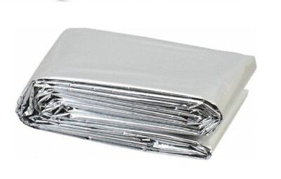 Survival Rescue Foil Waterproof Emergency Blanket 140cmx210cm approx Handy size