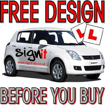 DRIVING SCHOOL Car Lettering Vehicle Signs Decals Vinyl. FREE DESIGN!!!!