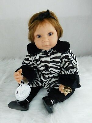 "Lee Middleton Doll 21"" Zebra Print Outfit"