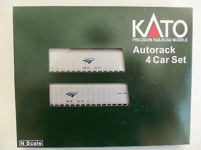 Kato 106-5501 Amtrak Autorack 4 Car Set