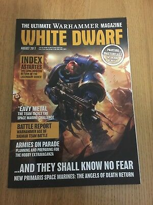 Games Workshop White Dwarf August 2017 magazine