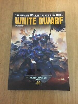 Games workshop White Dwarf September 2017 magazine