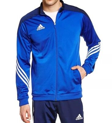 Men's Adidas Tracksuit Top Only 2XL Blue LAST 1 AVAILABLE