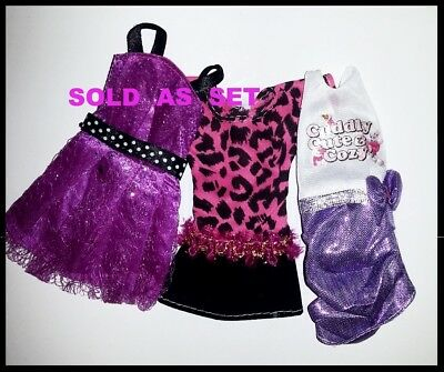 Barbie Doll Clothes - 3 Party Dresses - SOLD AS SET OF 3. AUSSIE SELLER