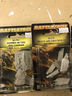 Battletech 4 Tanks And Carriers