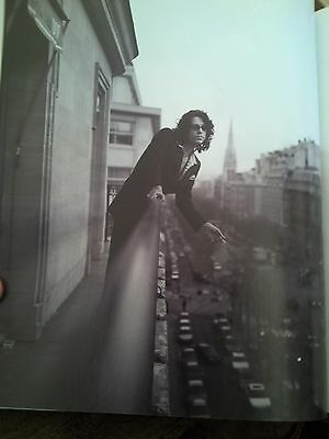 INXS Michael Hutchence Paris Hotel 1997 28 x 20cm Page from Book
