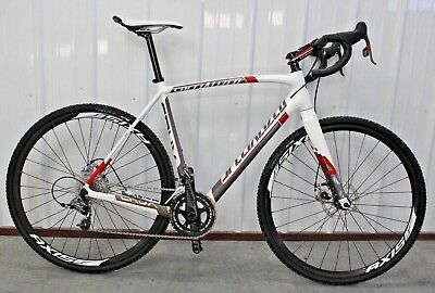 2014 SPECIALIZED CRUX Expert Sram RED Carbon Disc 56cm Cyclocross XC Bike MINT