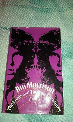 Jim Morrison The Lords and The New Creatures first edition