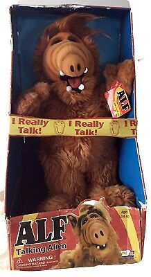 "Alf Talking Alien 16"" Stuffed Plush Toy Doll 15th Anniversary 2002"