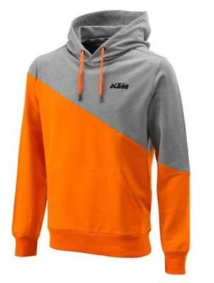 Ktm Diagonal Hoodie Brand New Orange Mens Large Genuine Powerwear