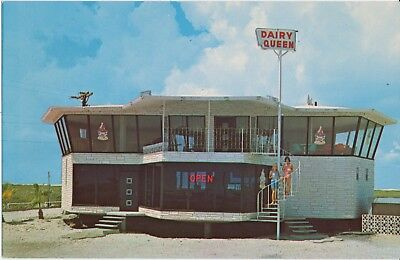 SUPER DAIRY QUEEN,PADRE ISLAND,TEXAS c.1960