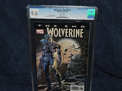 Wolverine: The End #1 CGC 9.6