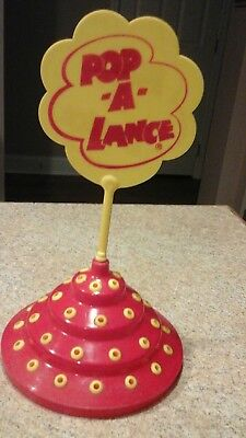 Vintage Early 80's POP-A-LANCE CHUPA Lollipop Display Top~Rare and hard to find!