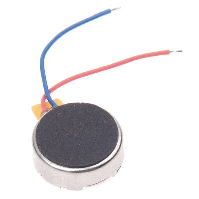 Cellphone Mobilephone Coin Flat Two Leads Vibrating Micro Motor WS P6B9