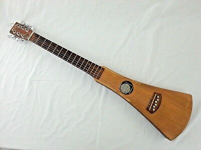Martin Backpacker Travel Acoustic Guitar - USED with cracks