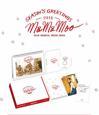 Mamamoo 2016 Season's Greetings + Free Shipping with tracking + Free Store Gift
