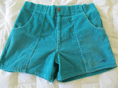 VTG 80's Op Ocean Pacific Cord Shorts- surf- skate - size 34