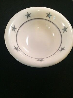 Ss United States Lines Star Bowl Soup/cereal Bowl Mayer China Restaurantware #4