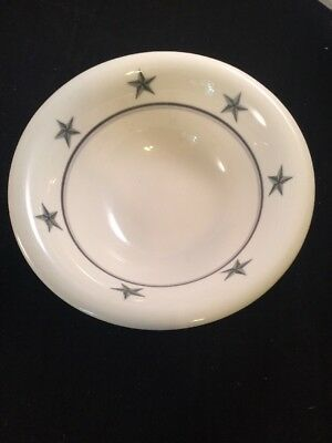 Ss United States Lines Star Bowl Soup/cereal Bowl Mayer China Restaurantware #3
