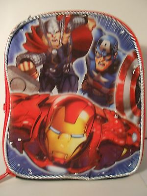 Marvel Comics AVENGERS Lunch Bag NEW w/tags - Captain America, Iron Man,Thor