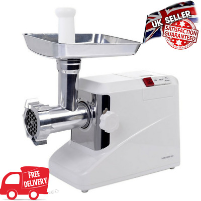 Professional Electric Meat Mincer Grinder Sausage Maker Machine Stainless Steel