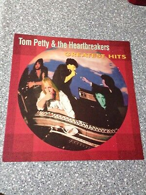 Tom Petty Greatest Hits Promo Poster Flat LP Sized 2-Sided Rare