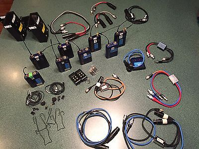 Audio Limited Envoy Wireless Systems - 4 Sets w/ Cables, Etc.