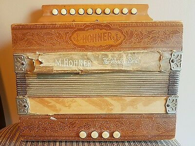 M. Hohner Accordion made in Germany HOHNER VINTAGE