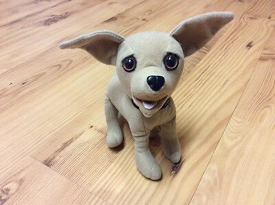 "Yo Quiero Taco Bell Chihuahua Talking Toy W/ Collar Dog Plush Applause 7"" Animal"